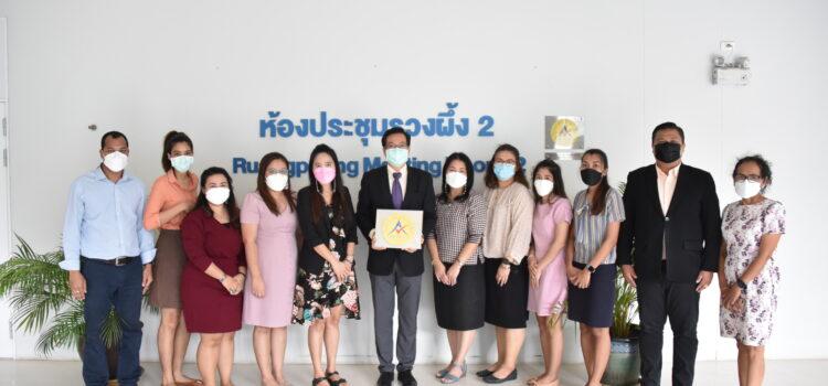 ห้องประชุมรวงผึ้ง 2  อาคารคณะครุศาสตร์ ผ่านการตรวจประเมินมาตรฐานสถานที่จัดงานประเทศไทย ประจำปี 2563 (ประเภทห้องประชุม) Thailand MICE Venue Standard Meeting Room (Public / Private Sectors) Certified 2021-2023