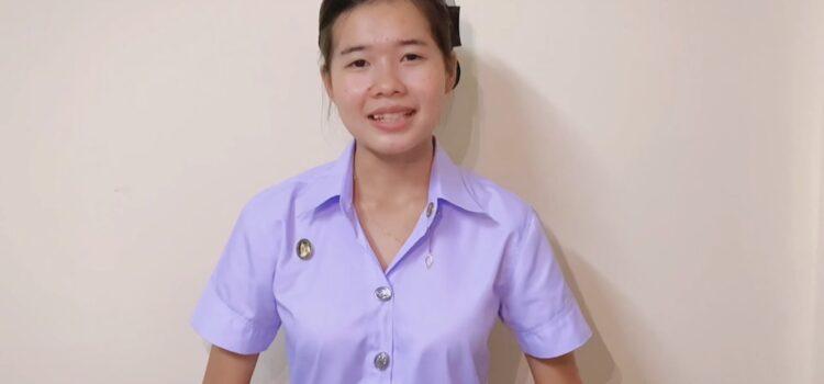 คณะครุศาสตร์ ขอแสดงความยินดีกับ นางสาวธนพร กุลพร้อม นักศึกษาหลักสูตรวิชาภาษาไทย ชั้นปีที่ 1  ได้รับรางวัลชมเชย ในการแข่งขันพูดโน้มน้าวใจ ระดับอุดมศึกษา